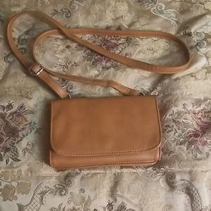 Brown Colab Small Crossbody Bag